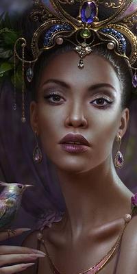 Galerie avatars femme noire