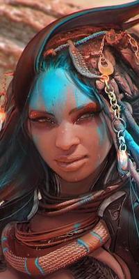 Galerie avatars forum fantasy africain