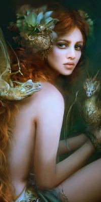 Galeries avatars fantasy femmes rousses