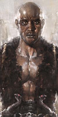 Galerie avatars fantasy homme noir